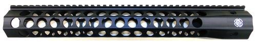 "Troy Industries Alpha Revo Rail, .308 DPMS HP 15"", Matte Black"