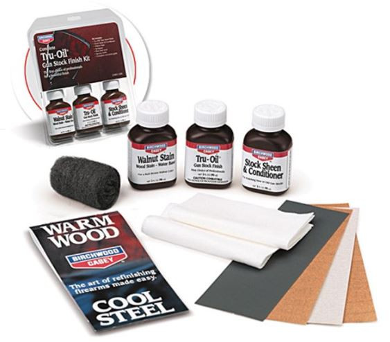 Birchwood  Casey Tru-Oil Stock Wood Finish Kit