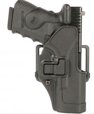 Blackhawk SERPA CQC Belt/Paddle Holster For H&K USP Compact, Black, Right Hand