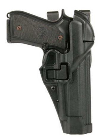 Blackhawk Serpa  Auto Lock Level 3 Duty Holster, Right Hand