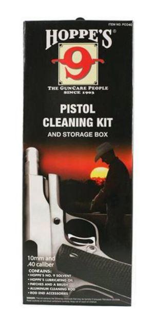 Hoppe's Pistol Cleaning Kit .40/.41/10mm Caliber