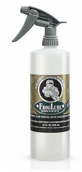 Frog Lube Solvent Firearm Treatment 32 Oz Spray Bottle