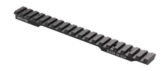 Weaver Extended Multi-Slot One Piece Base Picatinny/Weaver Compatible Remington 783 Short Action