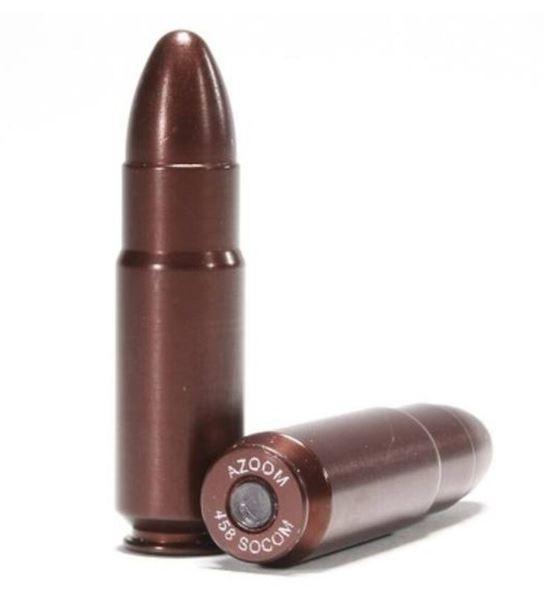 A-Zoom .458 SOCOM Snap Cap Aluminim, 2 Pack