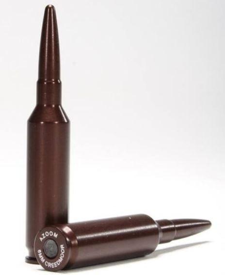 A-Zoom 6mm Creedmoor Snap Cap Aluminum 2 Pack