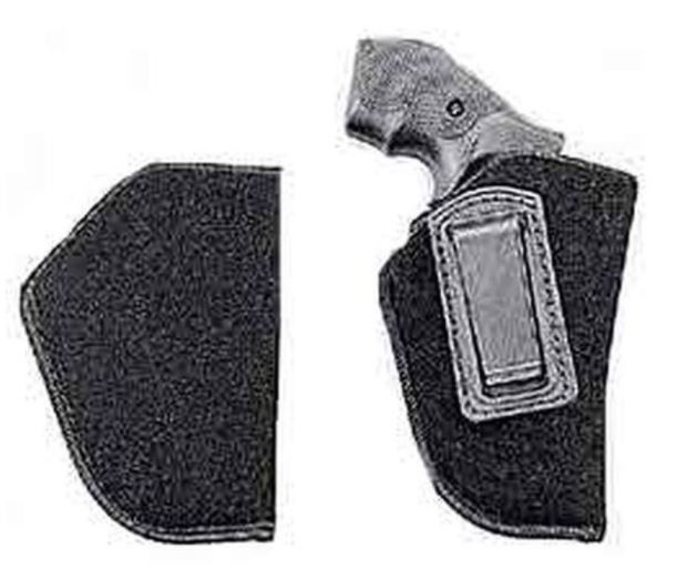 """Uncle Mikes Inside-the-Pants Holster Small- & Medium-Frame DA Revolvers 2"""" to 3"""" Barrels Size 0 Left Hand"""