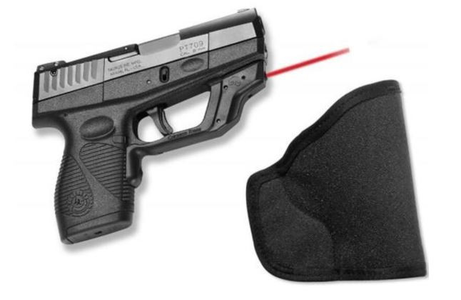 Crimson Trace Laserguard For Taurus Slim PT708, PT709, and PT740 with Holster