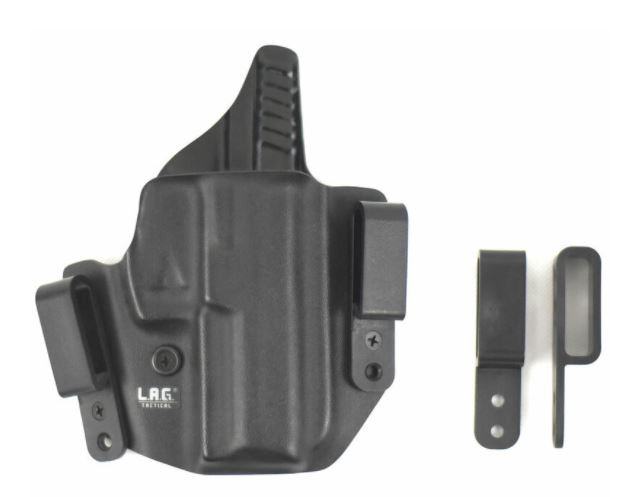 L.A.G. Tactical Defender Series OWB/IWB Holster S&W M&P 9/40 Right Hand
