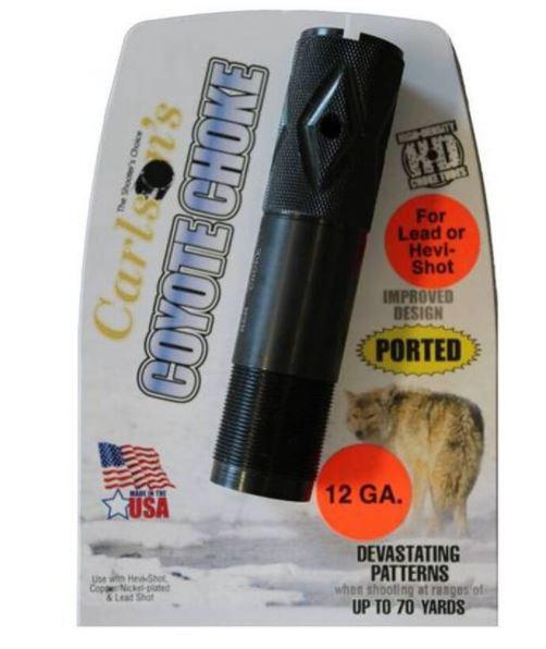 Carlson's Beretta Optima Plus Ported Coyote Choke Tube 12 Gauge
