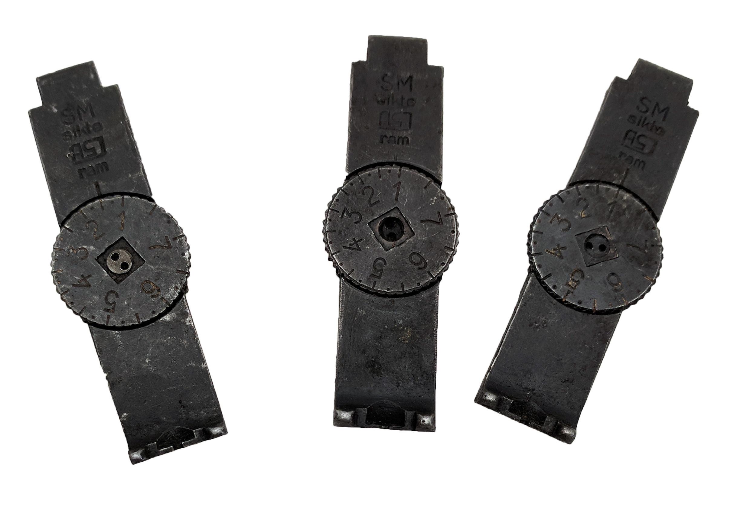 "Swedish Mauser ""ASJ ram"" Rear Sight"