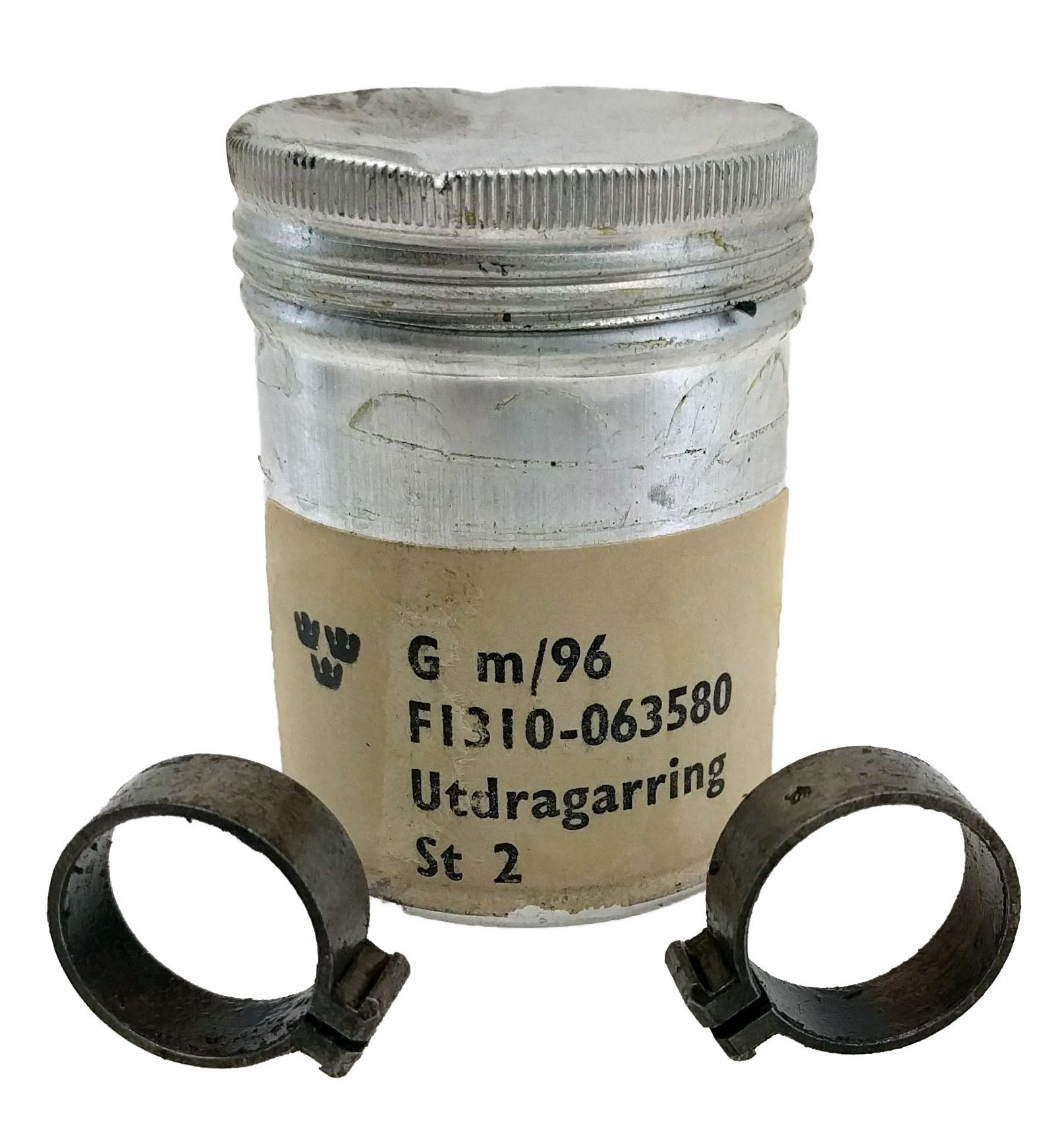M96/M38 Extractor Collar, 2 per Tin