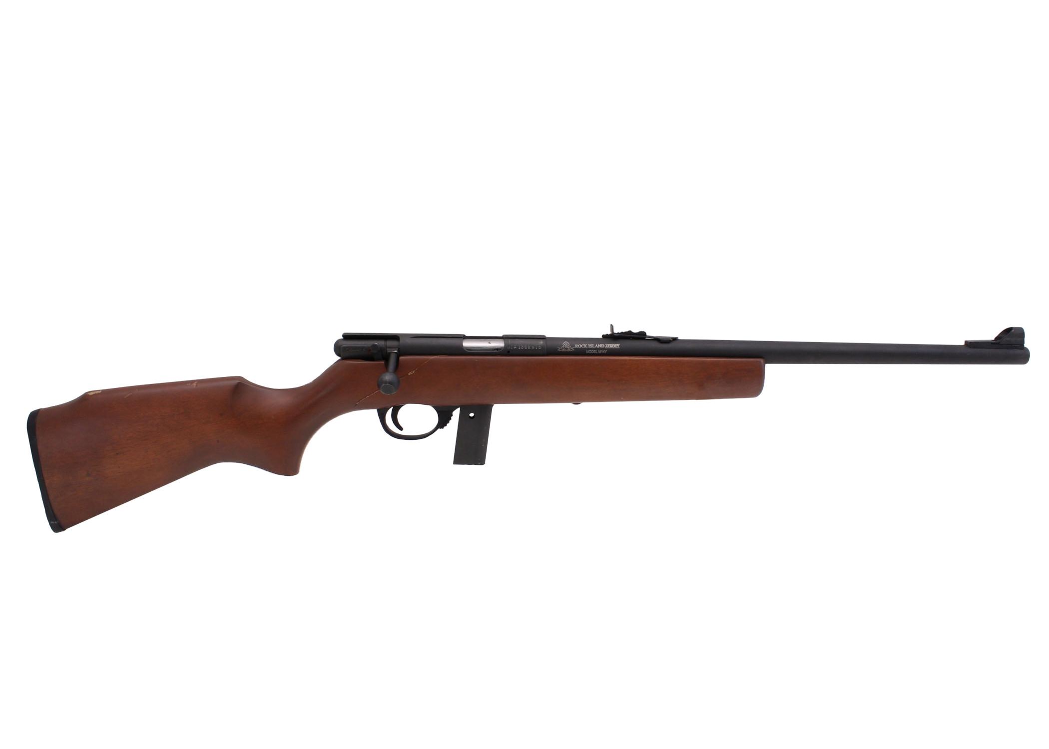 Armscor M14Y, .22LR, *Good, Cracked Stock*