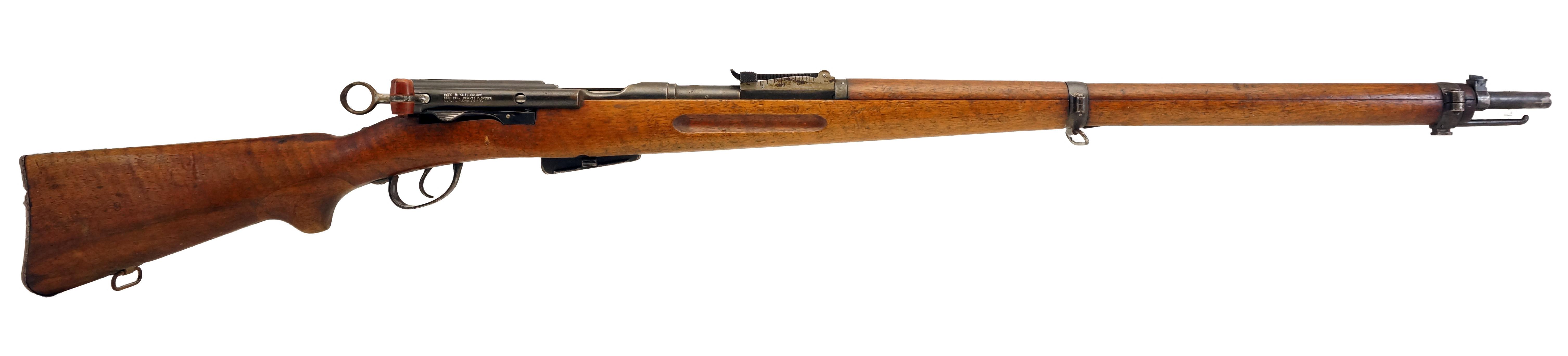 Swiss 1896/11, 7.5x55mm, *Good, Incomplete*