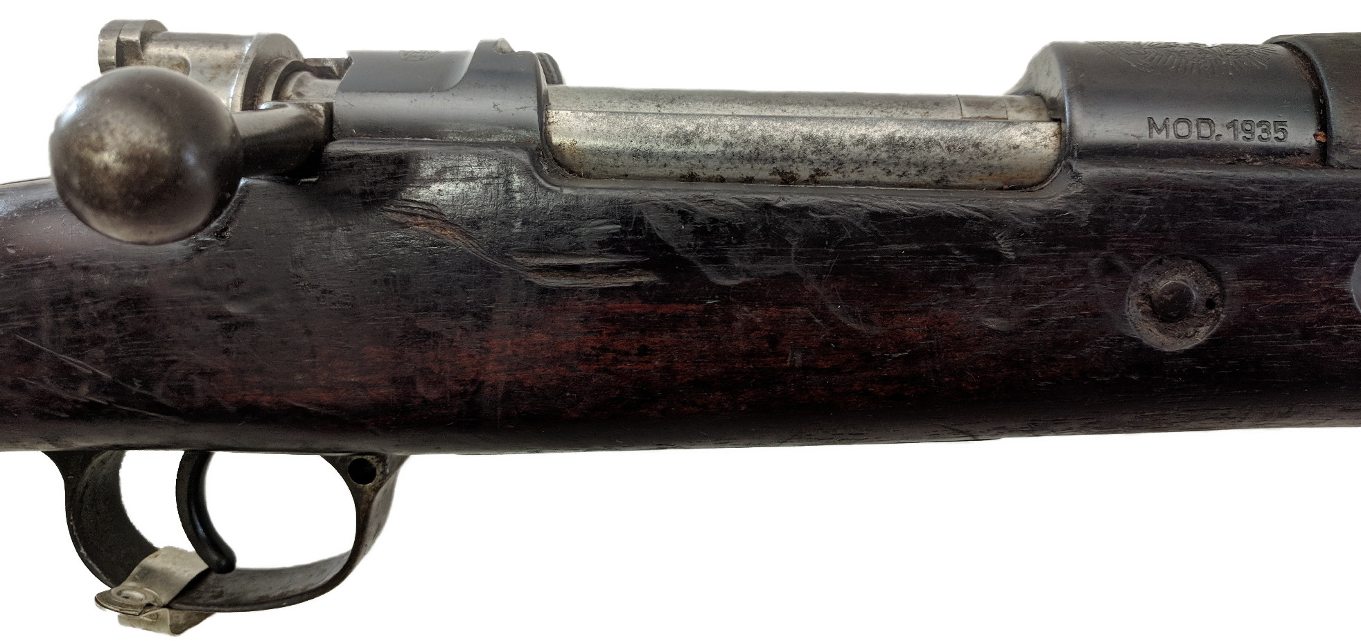 Brazilian 1935 Mauser Rifle, Matching, 7mm, *Good*