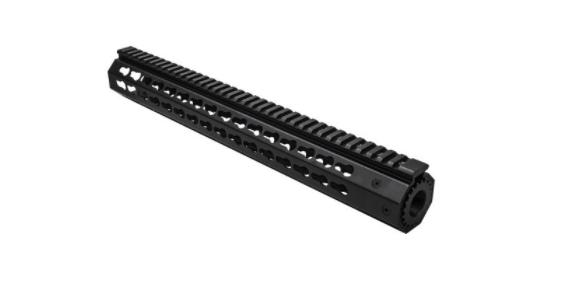 "NcSTAR Keymod 15"" FreeFloat Handguard For S&W M&P15-22"