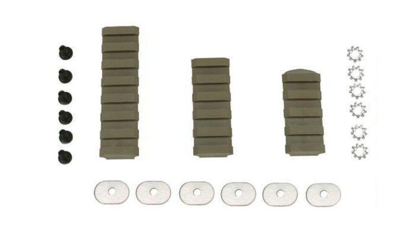 American Built Arms AR-15 Light To Fight 7, 5, 4 Slot Rail Combo Pack