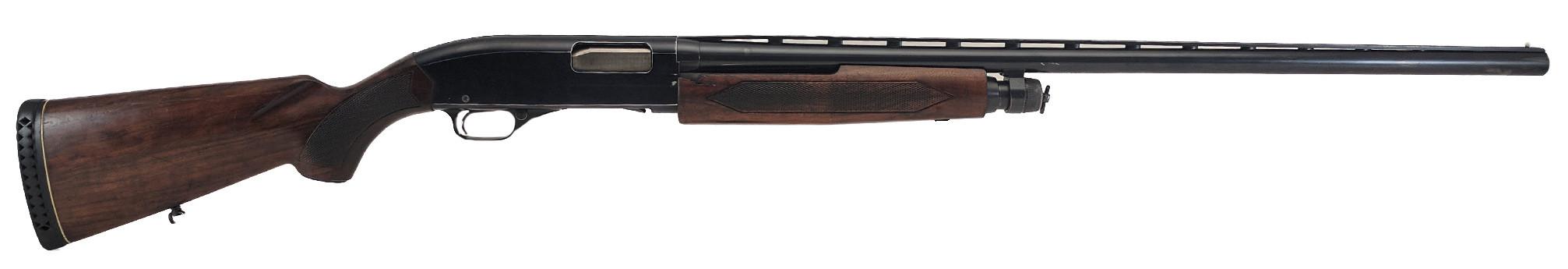 "Winchester 1200, 12GA, 30"" Barrel, *Good, Cracked Stock*"