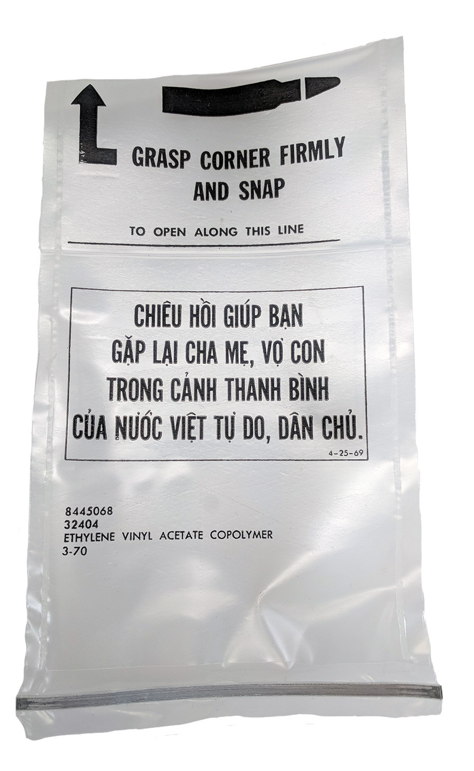 "U.S. Military Vietnam Era M16 ""Chieu Hoi"" Magazine Bag, Box of 500"