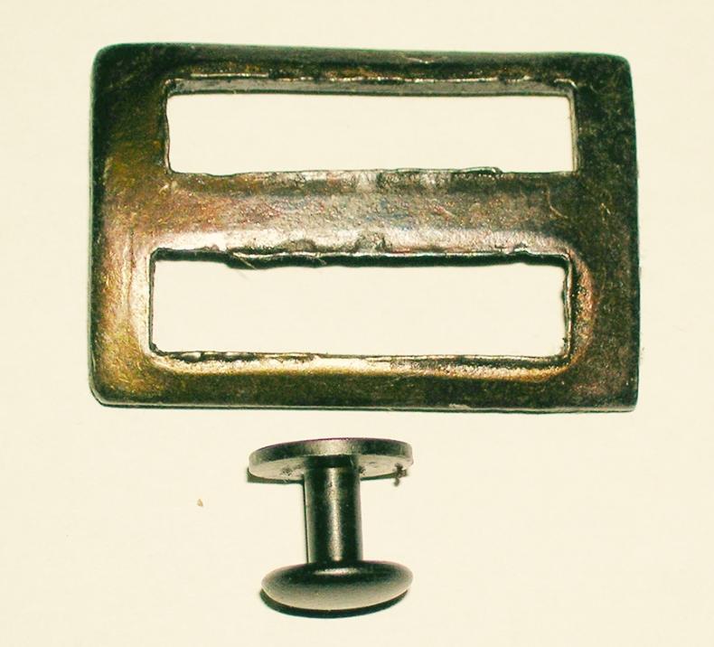Brazilian 1908 Sling Buckle w/ Button