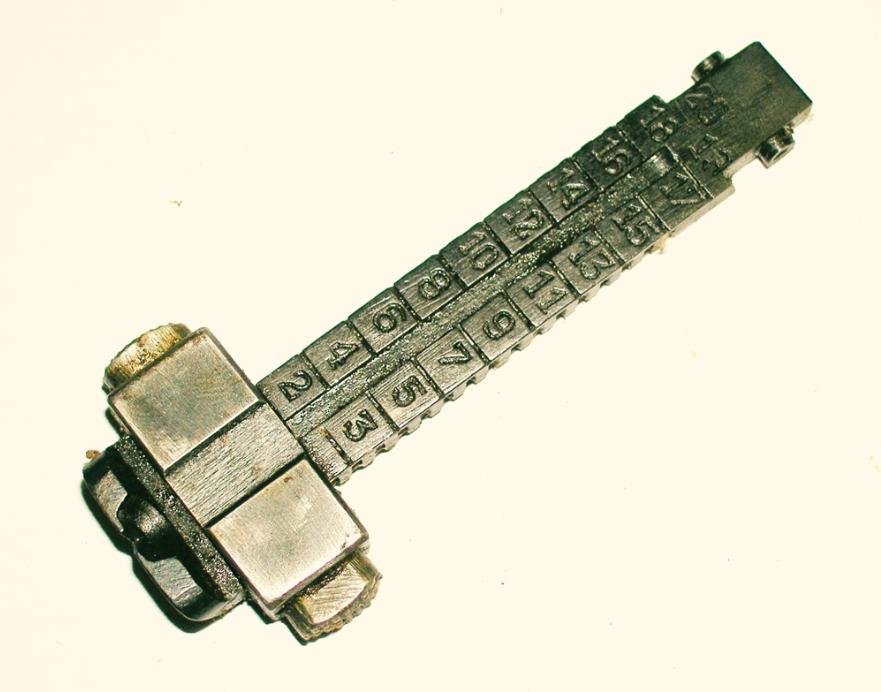 Yugo M48 Rear Sight