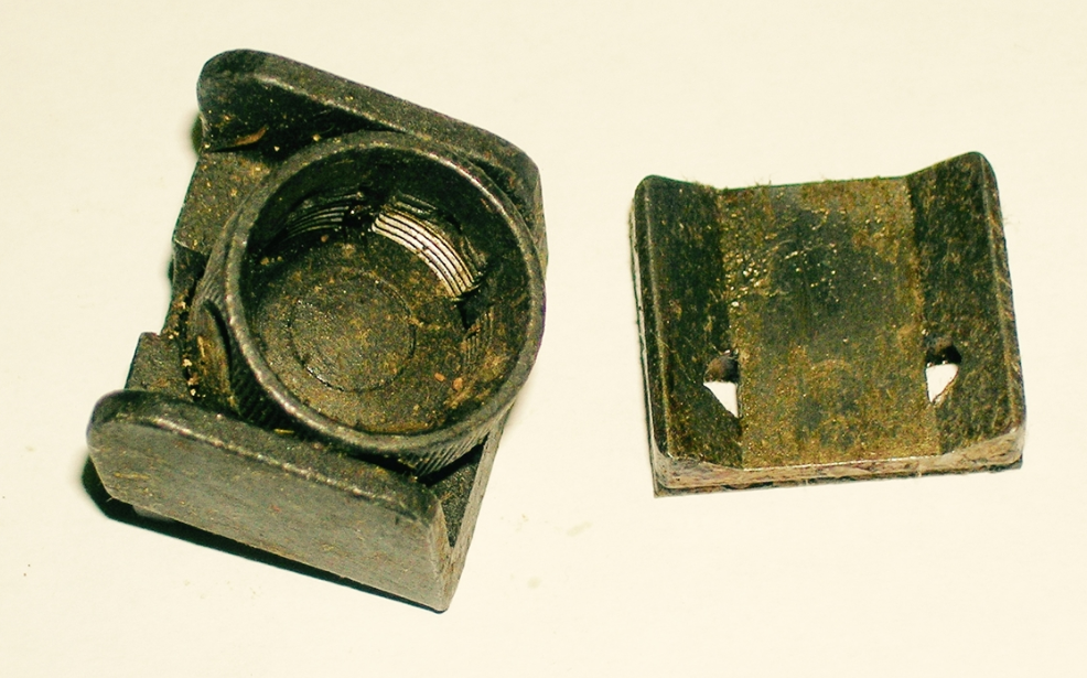 Brazilian 968 Rear Sight, Incomplete