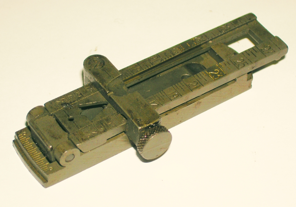 1903 Rear Sight Assembly, Late Type