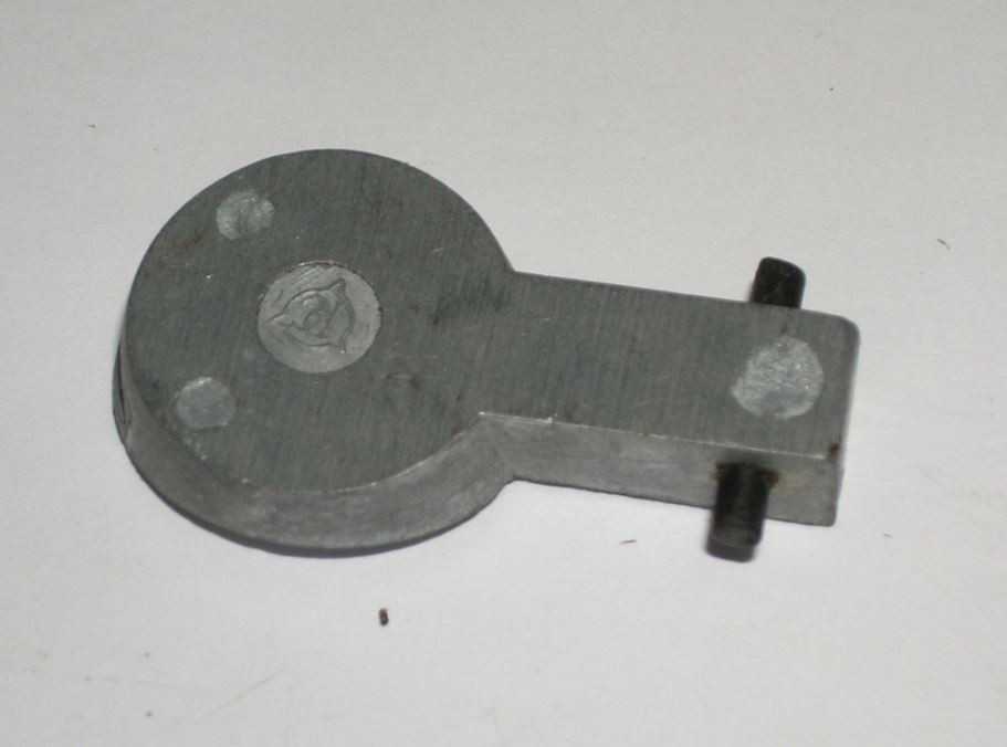 Enfield No4 Alloy Butt Plate Trap w/ Pin, Long Branch, *Used*