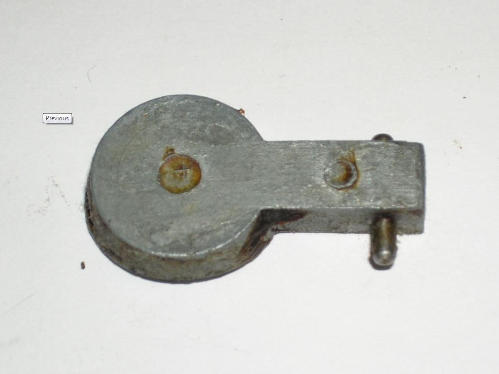 Enfield No.4 Alloy Butt Plate Trap w/ Pin, British, *Used*