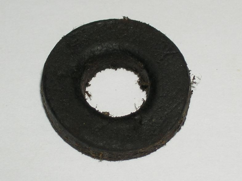 Enfield No.4 Buttstock Bolt Washer, Leather, *Used*
