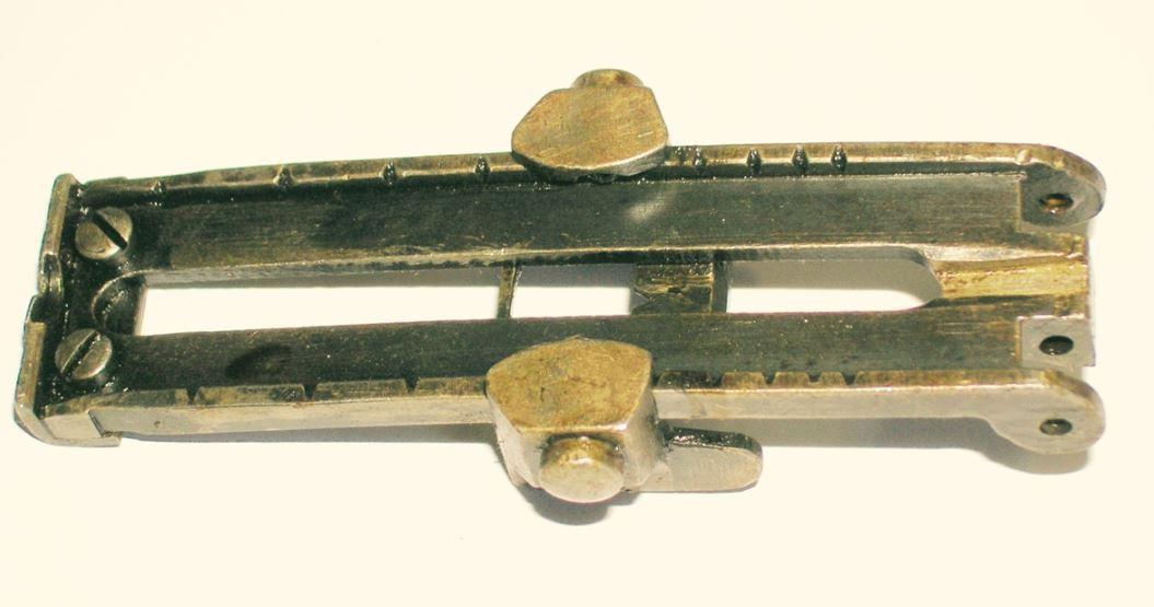 Finnish M1891 Rear Sight w/ Slide Extension, *Used*