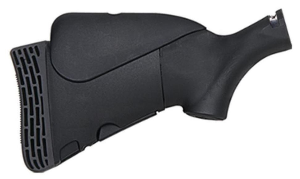 Mossberg Flex Hunting Stock 4-Position, Synthetic Black, For Mossberg Flex 500/590 Only