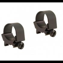 Weaver Detachable Top Mount Aluminum Scope Rings 30mm Low