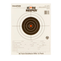 "Champion Targets Scorekeeper Small Bore Notebook  8.5"" x 11""  12 Pack"