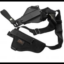 Uncle Mike's Sidekick Vertical Shoulder Revolver Holster, Nylon, Black