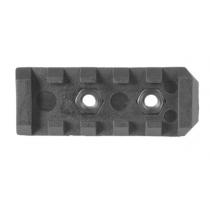 """Mission First Tactical AR-15 E-Volv Picatinny Rail Section 2.2"""" Polymer Black"""
