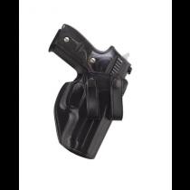 Galco Summer Comfort IWB Glock 26/27/33 RH Black Leather