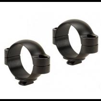 Leupold 2 Piece Dual Dovetail Rings 30mm Low, Matte