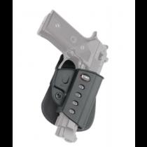 Fobus Evolution 2 Roto Paddle Beretta Vertec, Taurus 92/99, Black, Right Hand