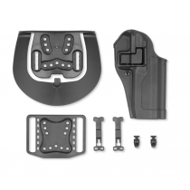 Blackhawk! SERPA CQC Concealment Belt/Paddle Holster FN FNS 9/40 Right Hand Polymer Black