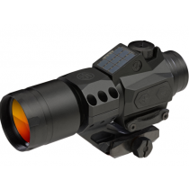 SIG Sauer Romeo6T Red Dot Optic 1x30mm 1 MOA Red Dot Ballistic Circle Dot Reticle CR2032 Battery/Solar Panel