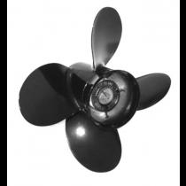 "Michigan Wheel Vortex XHS Series 13""D x 17""P RH Rotation 4-Blade Aluminum Thru Hub Exhaust Propeller"