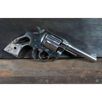"""Colt Detective Special, 4"""" Nickel, 38 Special, *Good, Incomplete*"""