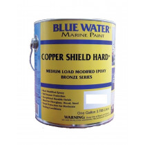 Blue Water Marine Paint, Copper Shield Hard, Admiral Green, 1 Quart