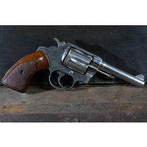 """Colt Police Positive, 4"""" Nickel, 38 Special, *Good, Incomplete*"""
