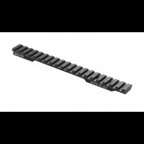 Weaver Extended Multi-Slot One Piece Base Picatinny/Weaver Compatible Winchester Model 70 Short Action Platforms 6061-T6 Aluminum Hard Coat Anodized Finish Matte
