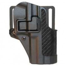BLACKHAWK! SERPA CQC SIG Sauer SigPro 2022 Holster Right Hand Black Carbon Fiber Finish 410008BK-R