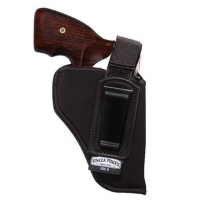 """Uncle Mike's IWB Holster With Retention Strap Size 5 4.5-5"""" Large Autos Left Hand Nylon"""