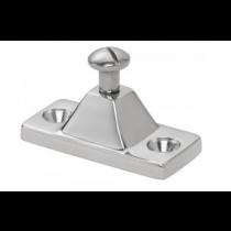 Whitecap Side Mount Deck Hinge Chrome Plated