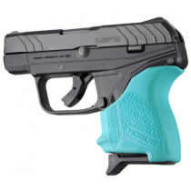 Hogue HandAll Slip-On Beavertail Grip Sleeve Ruger LCP II Aqua