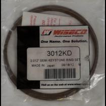 "Wiseco Semi Keystone Ring Set For Skidoo 550/ Skandic Models 3.012"""